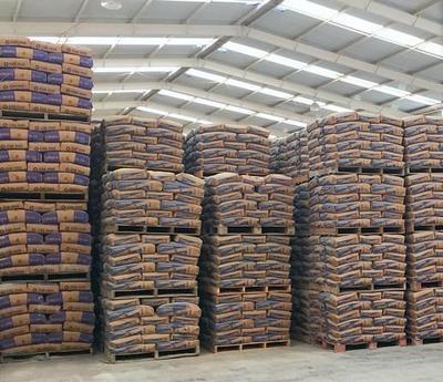 Fornecedor de cimento